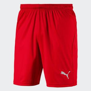 Puma LIGA Shorts Core – Red/White