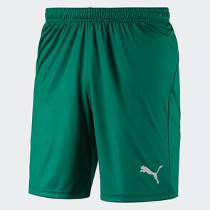 Puma LIGA Shorts Core – Pepper-Green/White