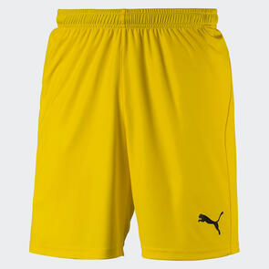 Puma LIGA Shorts Core – Cyber-Yellow/Black