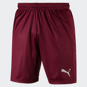 Puma LIGA Shorts Core – Cordovan/White