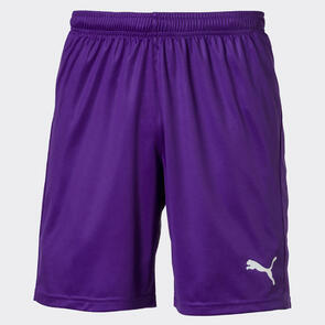 Puma LIGA Shorts Core – Violet/White
