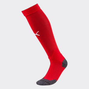 Puma LIGA Socks – Red/White