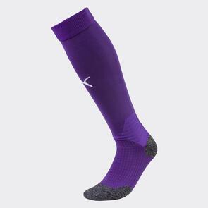 Puma LIGA Socks – Violet/White