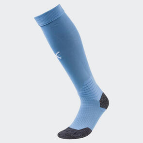 Puma LIGA Socks – Silver-Lake-Blue/White