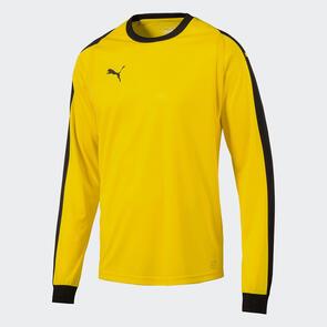 Puma LIGA GK Jersey – Cyber-Yellow/Black