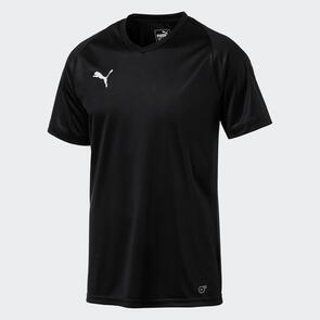 Puma Junior LIGA Jersey Core – Black/White