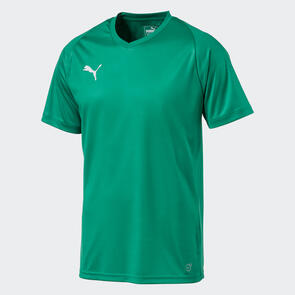Puma Junior LIGA Jersey Core – Pepper-Green/White