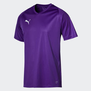 Puma Junior LIGA Jersey Core – Violet/White