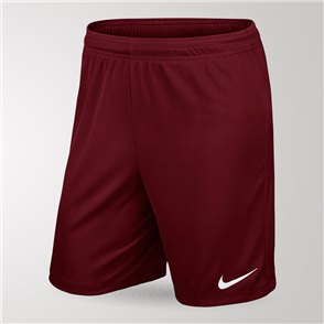 Nike Junior Park Knit Short II – Maroon