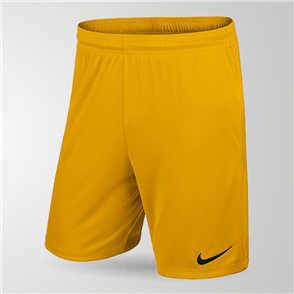 Nike Junior Park Knit Short II – Yellow