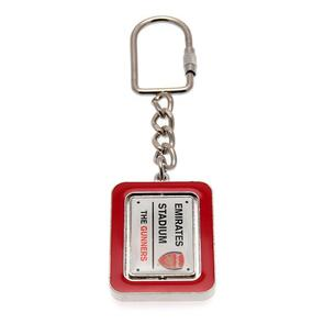 Arsenal Spinner Keyring