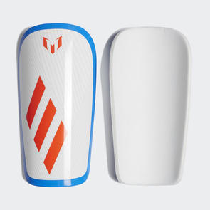 adidas Messi Lesto Shin Guards – White/Red/Blue