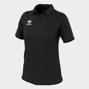 Erreà Women's Shedir Polo – Black