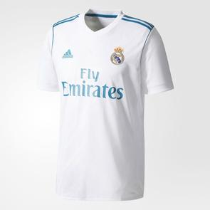 adidas 2017-18 Real Madrid Home Shirt