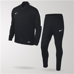 Nike Junior Academy Football Tracksuit – Black/White