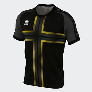 Erreà Parma 3.0 Shirt – Black/Yellow