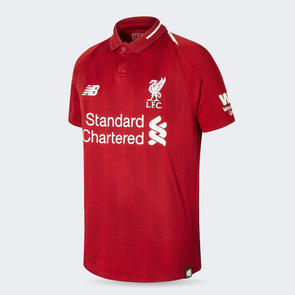 New Balance Junior 2018-19 Liverpool Home Jersey