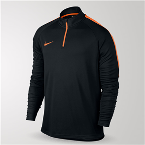 Nike Dry Academy Football Drill Top – Black/Orange