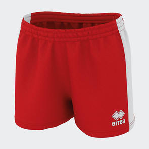 Erreà Women's Carys 3.0 Short – Red/White
