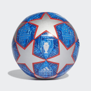 adidas Finale Madrid 19  Capitano Ball – Silver/Blue