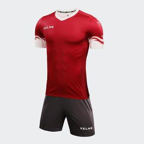 Kelme Dominar Jersey & Short Set – Red/White