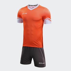 Kelme Dominar Jersey & Short Set – Bright Orange/White