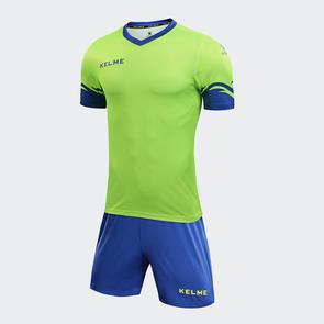 Kelme Dominar Jersey & Short Set – Neon Green/Royal Blue