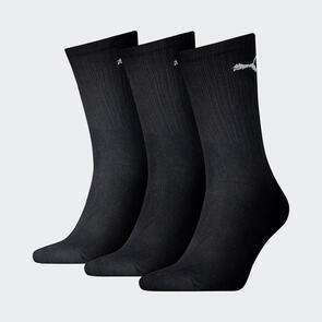 Puma Sport Crew Lightweight Sock (3 Pack) – Black