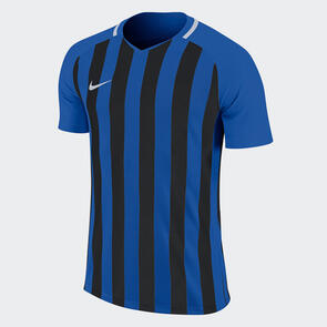 Nike Striped Division III Jersey – Royal-Blue/Black