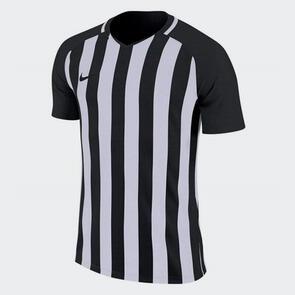Nike Junior Striped Division III Jersey – Black/White