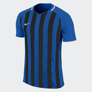 Nike Junior Striped Division III Jersey – Royal/Black