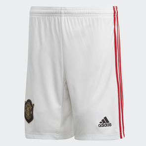 adidas Junior 2019-20 Manchester United Home Shorts