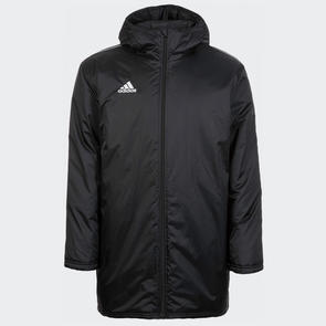 adidas Core 18 Stadium Jacket – Black/White