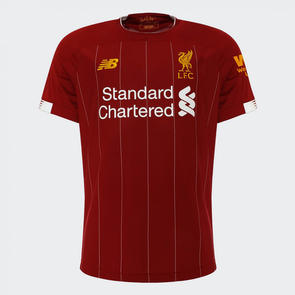 New Balance 2019-20 Liverpool Home Shirt