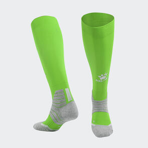 Kelme Golpear Long Calf Football Sock – Grass-Green/White