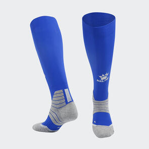 Kelme Golpear Long Calf Football Sock – Blue/White