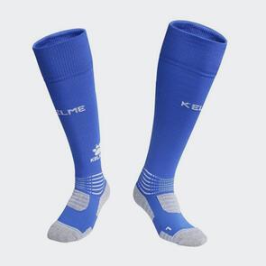 Kelme Patada Long Calf Football Sock – Blue/White