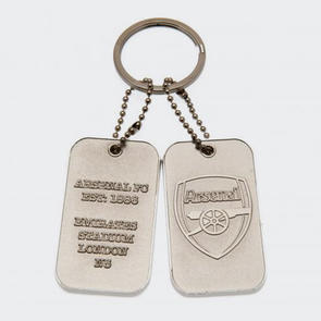 Arsenal Dog Tag Keyring