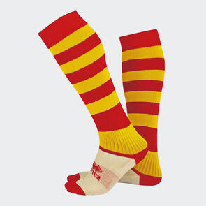 Erreà Zone Socks – Red/Yellow