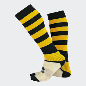 Erreà Zone Socks – Black/Yellow
