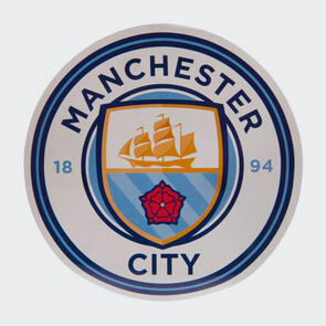 Manchester City Big Crest Circular Sticker