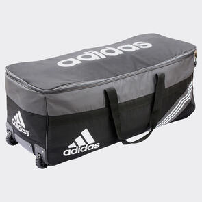 adidas 1.0 Wheelie Gear Bag – Black/White