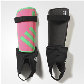 adidas Junior Ghost Shin Guards – Solar-Pink/Lime