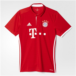 adidas 2016-17 Bayern Munich Home Shirt