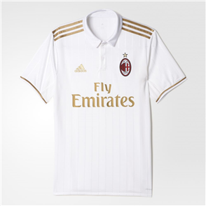 adidas 2016-17 AC Milan Away Shirt