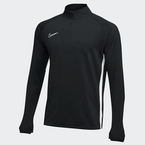 Nike Academy 19 Drill Top – Black/White