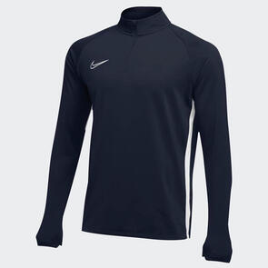 Nike Academy 19 Drill Top – Obsidian/White