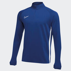 Nike Academy 19 Drill Top – Royal-Blue/White