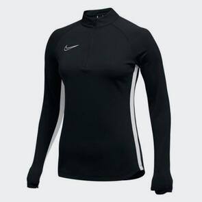 Nike Women's Academy 19 Drill Top – Black/White