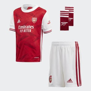 adidas Infant 2020-21 Arsenal Home Mini Kit